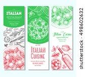 italian food vintage design... | Shutterstock .eps vector #498602632