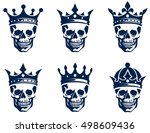 collection of graphical... | Shutterstock .eps vector #498609436