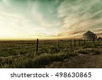 idaho sunset | Shutterstock . vector #498630865