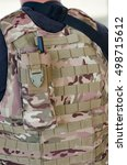 Small photo of radio transmitter case vest uniform soldier airsoft
