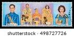 thailand   circa 2016  a thai...   Shutterstock . vector #498727726