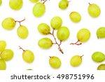 Grape Berries Top View Overhea...