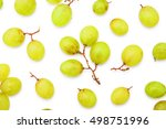grape berries top view overhead ...