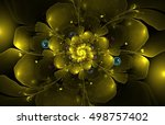 Abstract Fractal Flower...