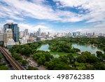 beautiful morning period... | Shutterstock . vector #498762385