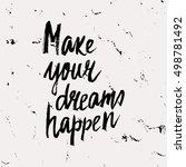 conceptual hand drawn phrase... | Shutterstock .eps vector #498781492