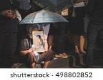 bangkok  thailand  october 14 ... | Shutterstock . vector #498802852