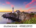 Portland Head Light In Cape...