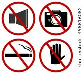Prohibitory Signs  Do Not Honk...