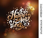 """lettering """"happy new year"""".... 