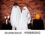 Couple Of Ghosts Posing Over...