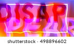 abstract banner glitch style.... | Shutterstock .eps vector #498896602
