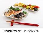 japanese cuisine | Shutterstock . vector #498949978