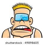 bad boy theme | Shutterstock .eps vector #49898605