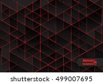 abstract background with... | Shutterstock .eps vector #499007695