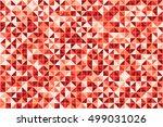 geometric background of... | Shutterstock .eps vector #499031026