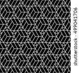 vector modern abstract geometry ... | Shutterstock .eps vector #499041706