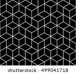 abstract geometric hipster...   Shutterstock .eps vector #499041718