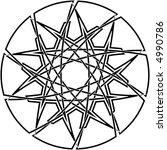 celtic knot  37 | Shutterstock .eps vector #4990786