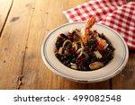 delicious shellfish gourmet... | Shutterstock . vector #499082548