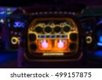 blurred colorful lights of... | Shutterstock . vector #499157875