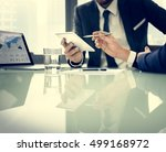 business brainstorming graph... | Shutterstock . vector #499168972