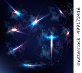 abstract image of lighting... | Shutterstock .eps vector #499172416