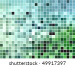 abstract square pixel mosaic... | Shutterstock .eps vector #49917397