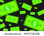 the money background   vector | Shutterstock .eps vector #499178338