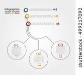 infographic design template... | Shutterstock .eps vector #499217092