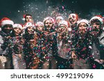 colorful fun. group of... | Shutterstock . vector #499219096