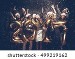 new 2017 year is coming  group... | Shutterstock . vector #499219162