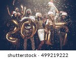 happy new 2017 year  group of... | Shutterstock . vector #499219222