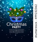 abstract beauty merry christmas ... | Shutterstock .eps vector #499232362