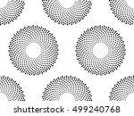 vector seamless texture. modern ... | Shutterstock .eps vector #499240768