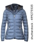 light blue jacket | Shutterstock . vector #499275535