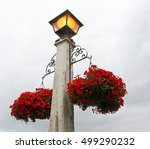 Street Light Lamp Post With...