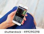 riga  latvia   september 8 ...   Shutterstock . vector #499290298