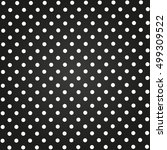 circles background black... | Shutterstock .eps vector #499309522