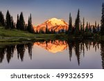 Mount Rainier Reflection From...