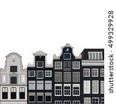 gray fairy houses | Shutterstock .eps vector #499329928
