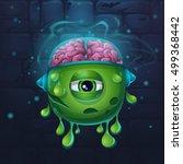 cartoon funny vector... | Shutterstock .eps vector #499368442