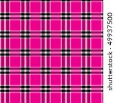Tartan Design Background And A...