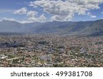 city of cochamba  bolivia | Shutterstock . vector #499381708