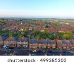 aerial view of garden and roof... | Shutterstock . vector #499385302