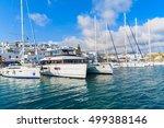 Naoussa Port  Paros Island  ...