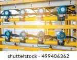 pressure transmitter  and... | Shutterstock . vector #499406362