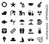 black payment of  bills icons   ...   Shutterstock .eps vector #499406632