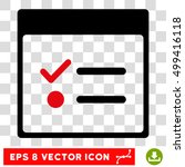 vector todo items calendar page ...