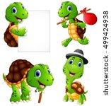 vector illustration of  set of... | Shutterstock .eps vector #499424938